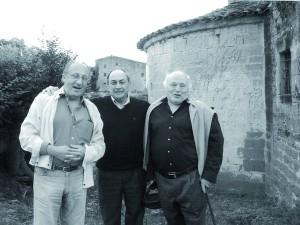 Jordi Comas amb companys ermita